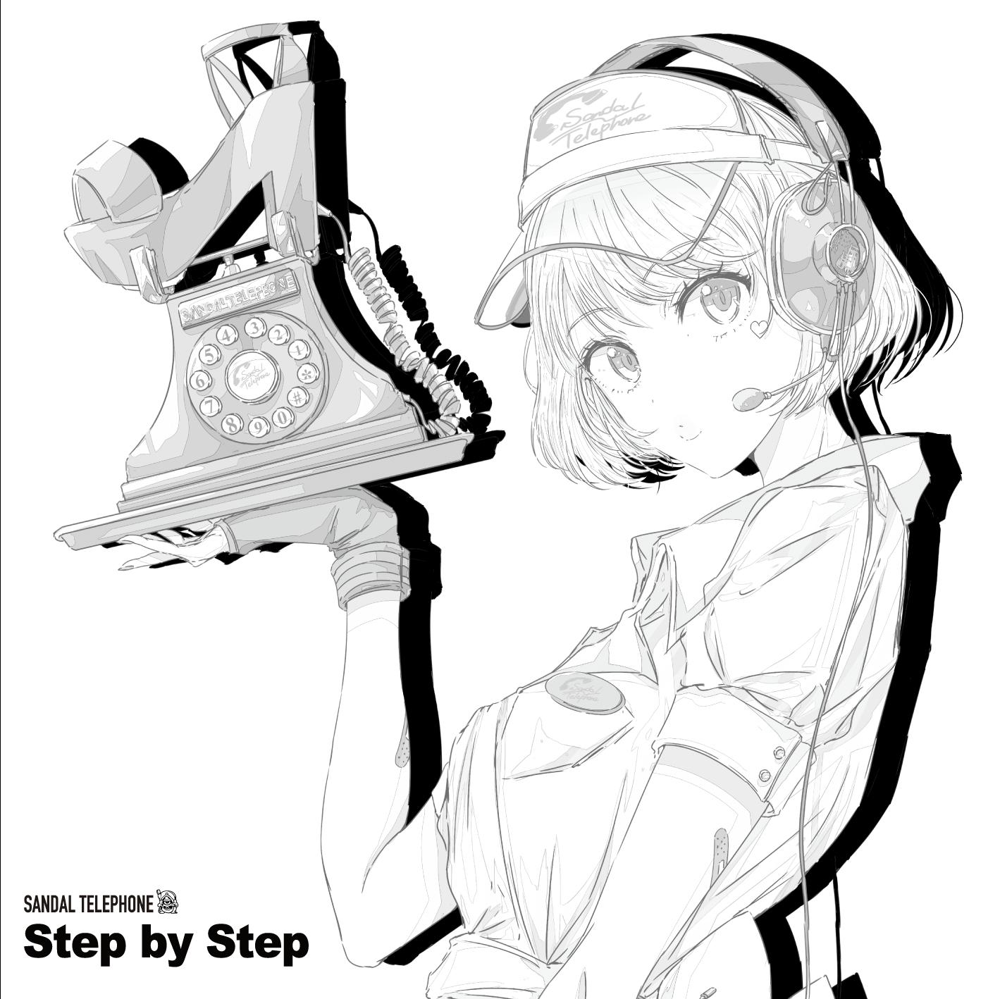 【選べる特典付き】サンダルテレフォン「Step by Step(B盤)」(SDTP-5)