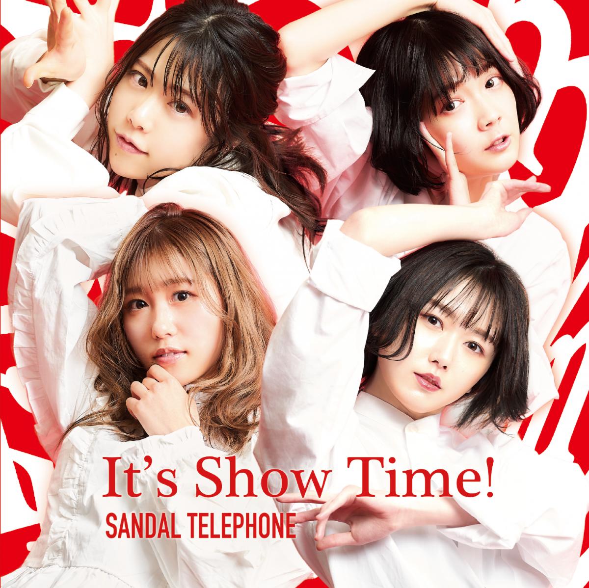 【先着特典付】サンダルテレフォン「It's Show Time! / 碧い鏡(Type-RED)」