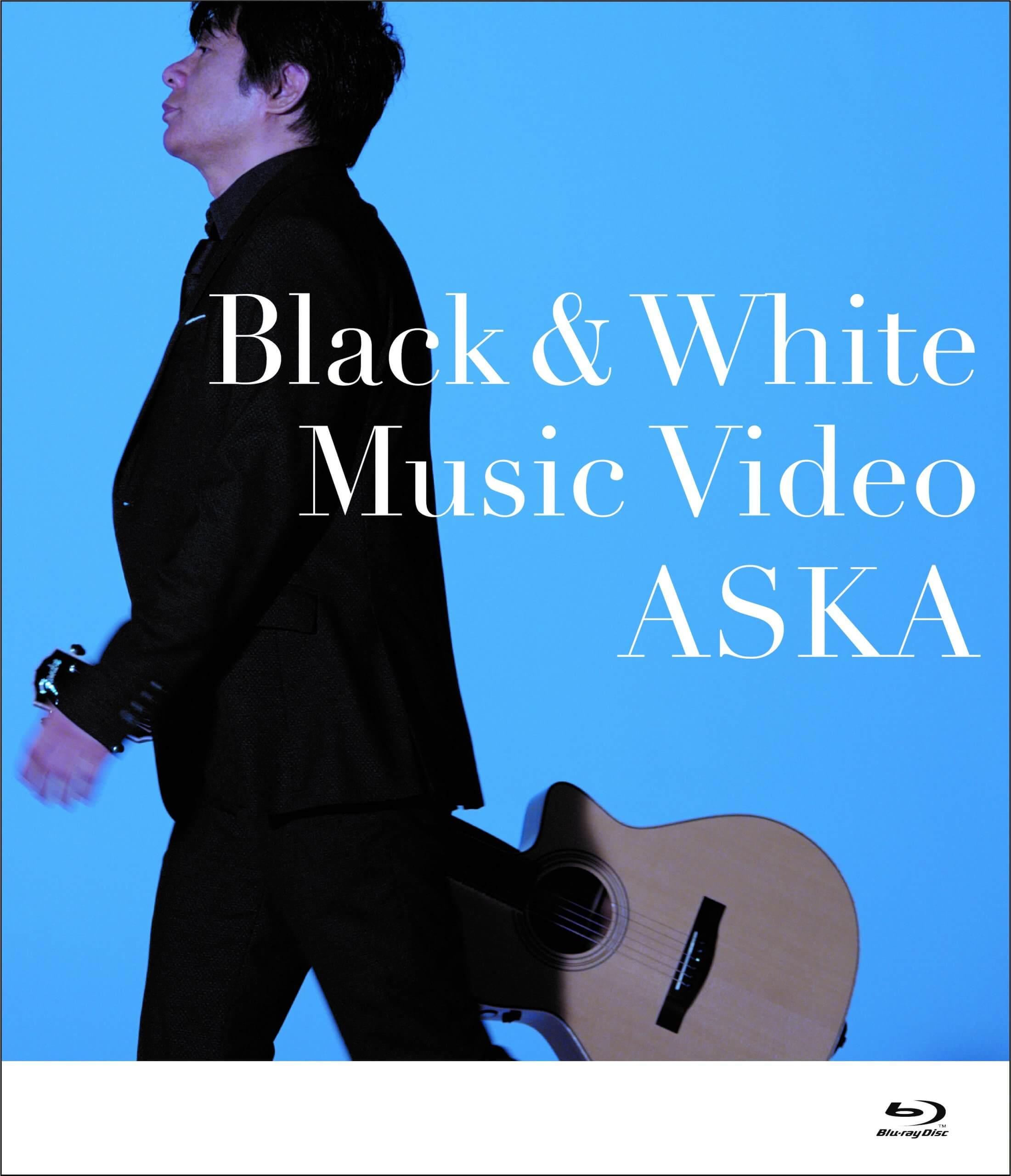 ASKA「Black&White」Music Video Blu-ray 送料無料
